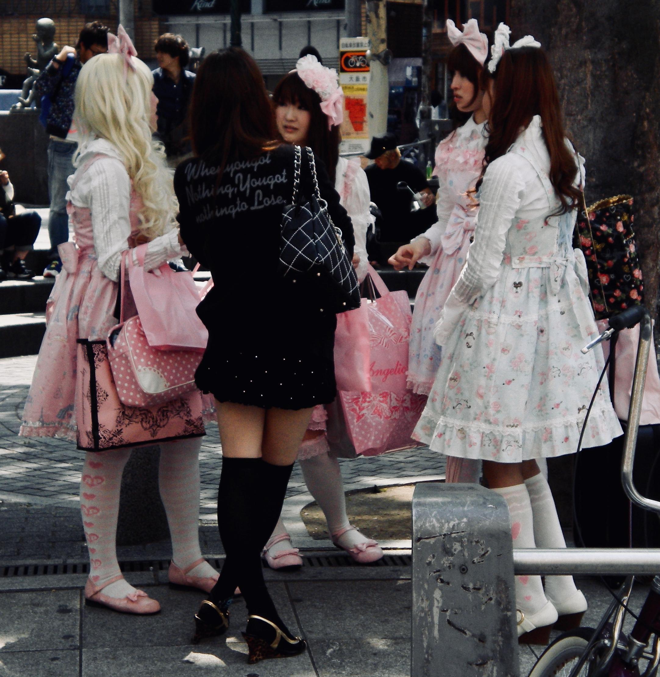 Shinjuku Bo Peep girls