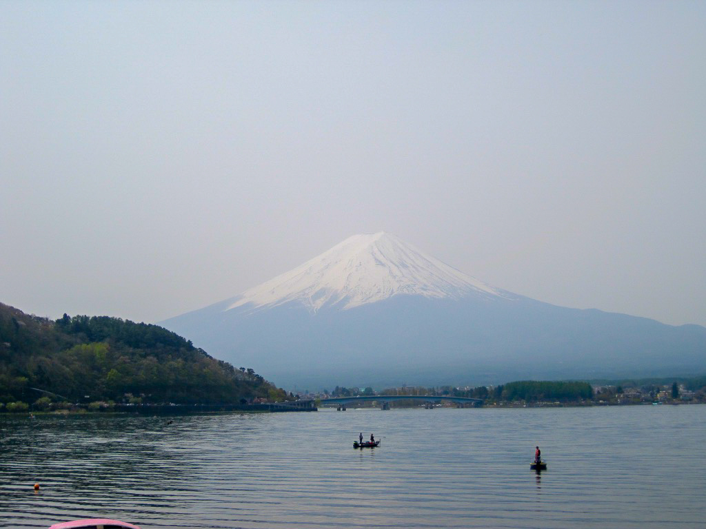 Mt. Fuji from Lake Kawaguchiko