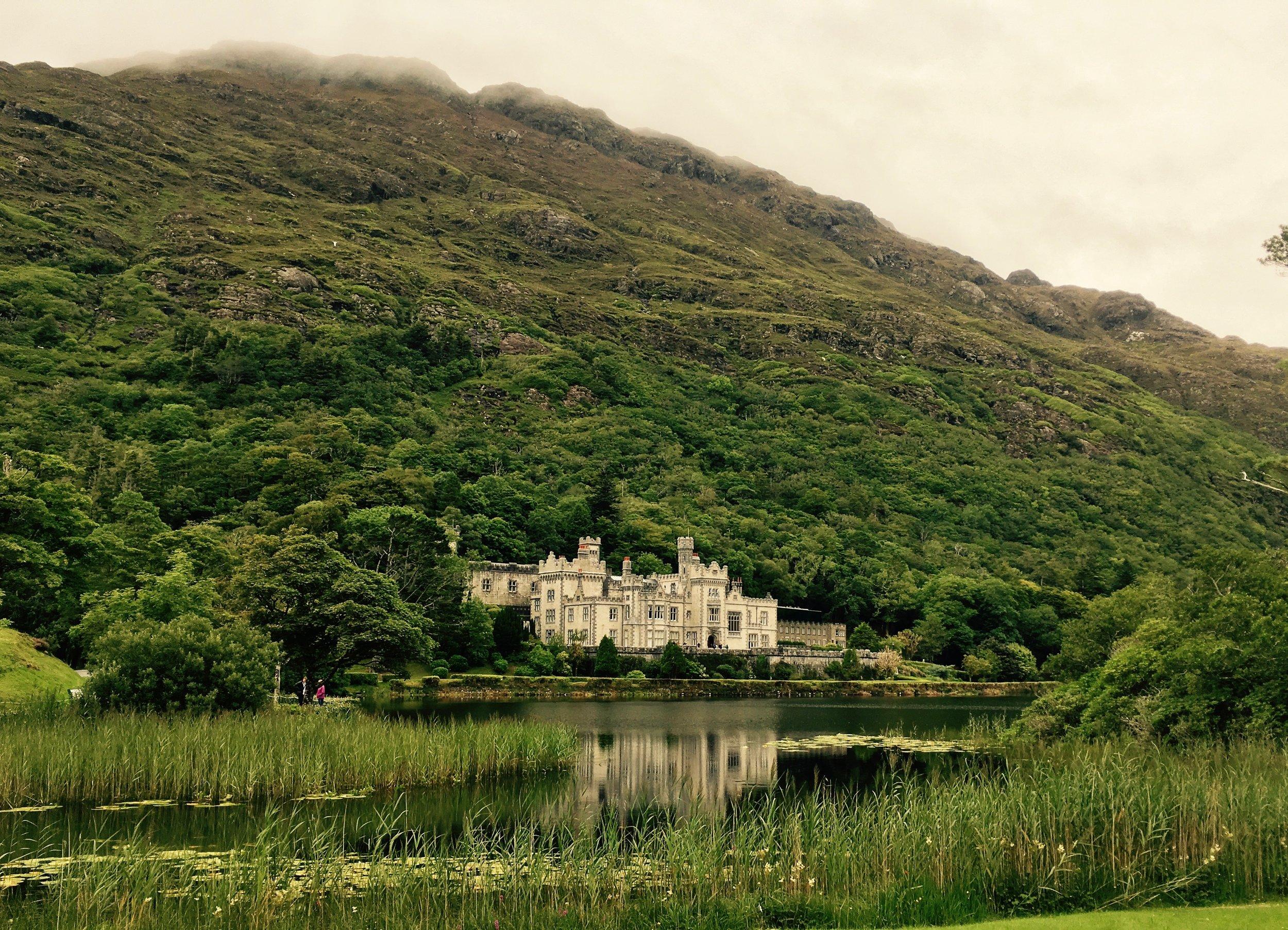 Kylemore Abbey Connemara Castle Ireland