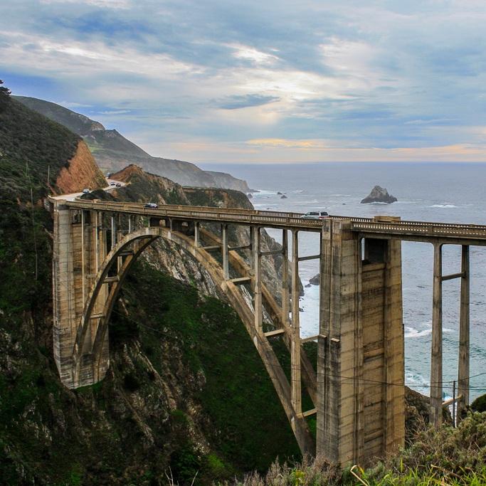 Bixby Bridge Big Sur Route 1