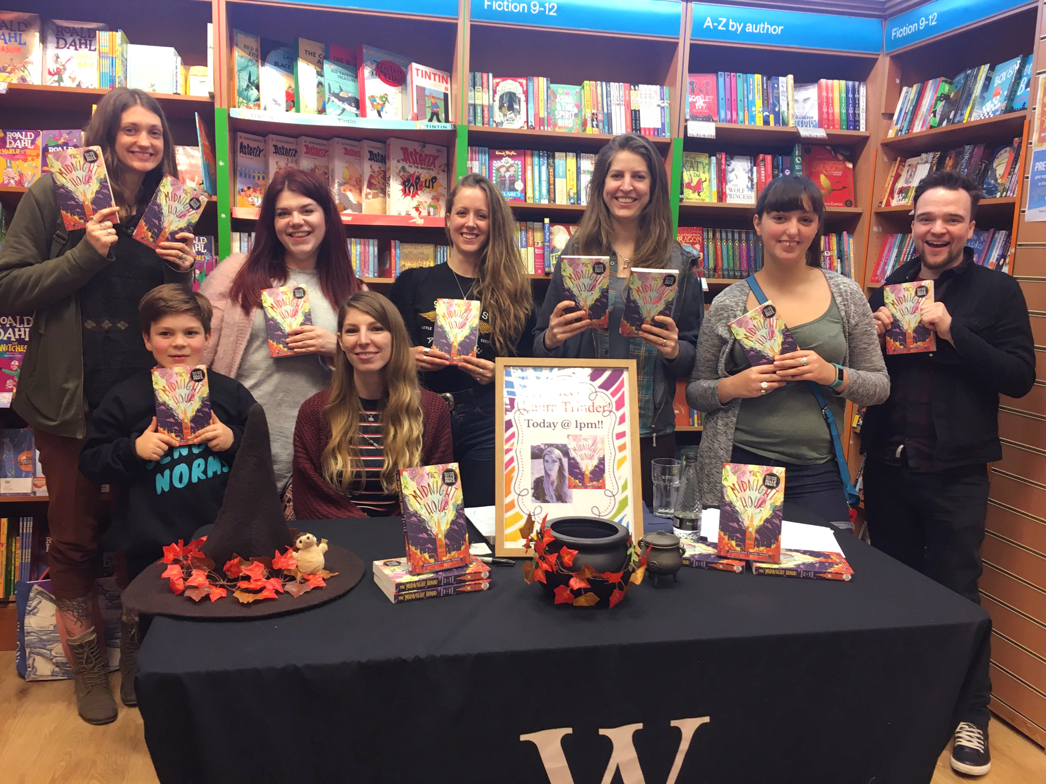 Loved my trip to Waterstones Milton Keynes Midsummer! Big thanks to the excellent staff (especially Nikki, Sean & Vicky), the children (who all created some fantastic monsters!) and my awesome MK friends who came to support me!