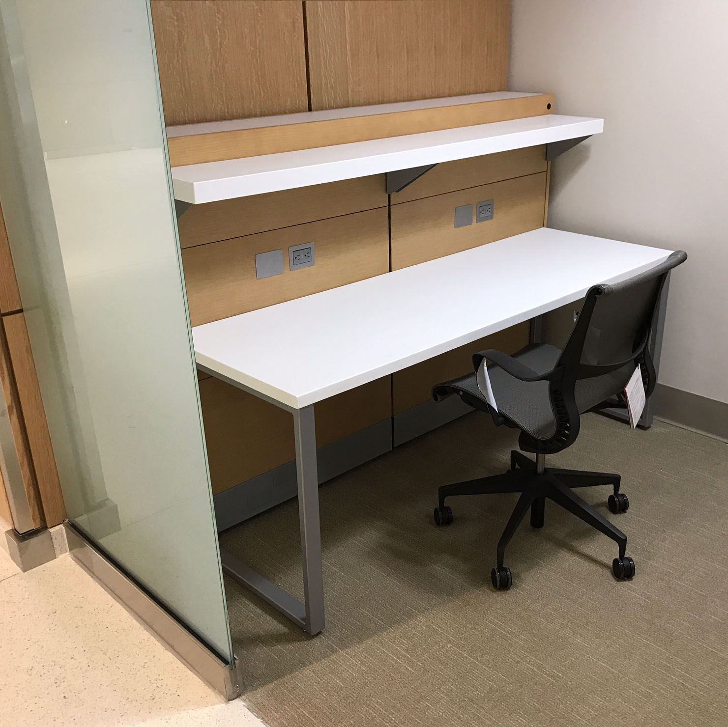 Custom Study Carrels - A destination space for prospective and current students