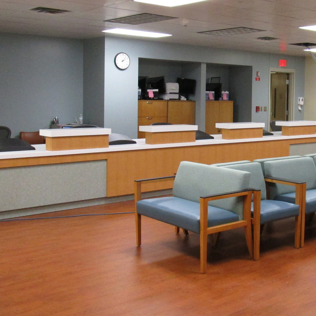 Healthcare Reception - A welcoming space for patient interaction