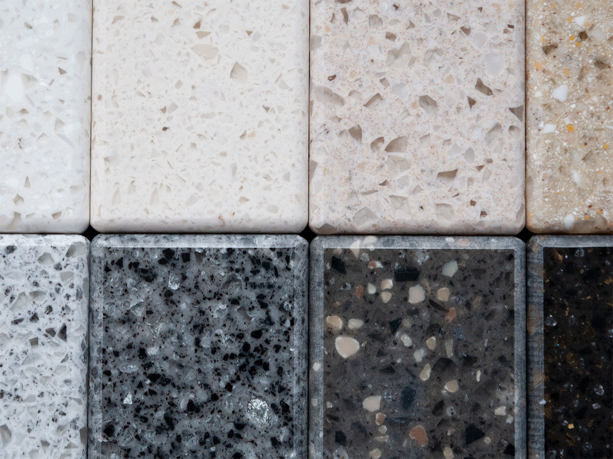 Staron - A non-porous solid surface option, Staron's materials, available in a robust color palette, are ideal for healthcare and food service environments.Learn More →