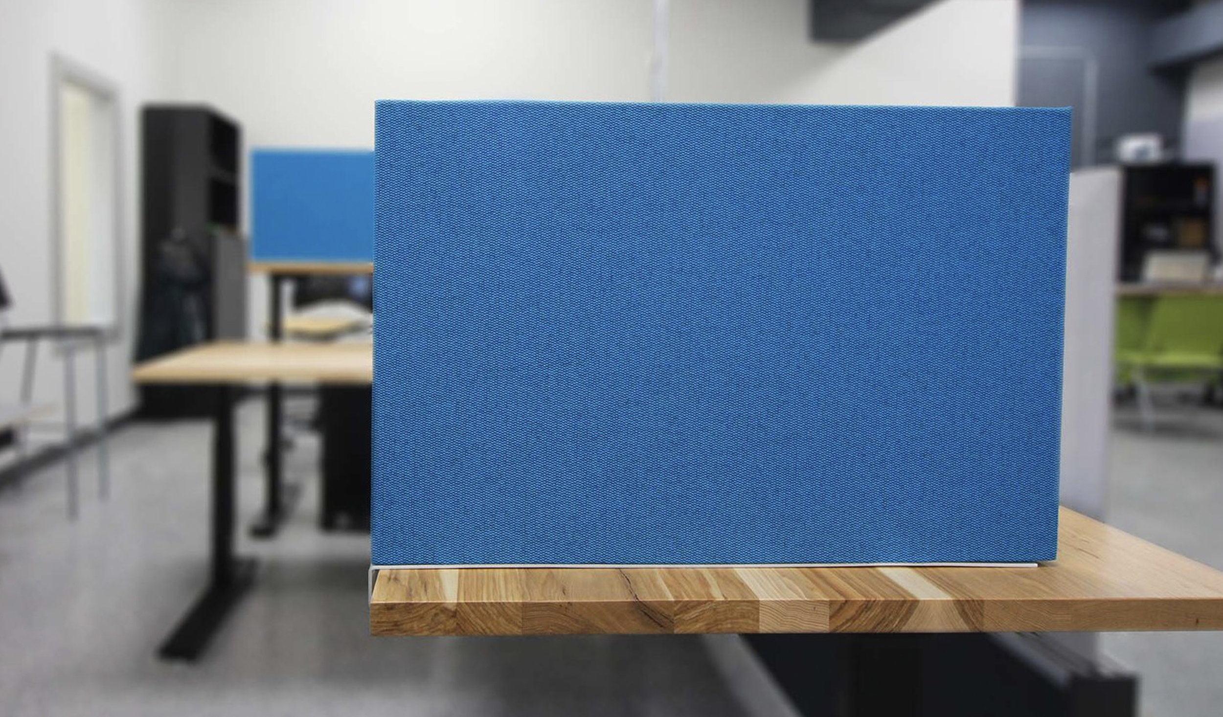 Privacy Screens - Define workspaces, help people focus, and give them a place to share ideas or work in progress with our tackable or writable divider screens. Have your own screens? We have brackets to attach them.