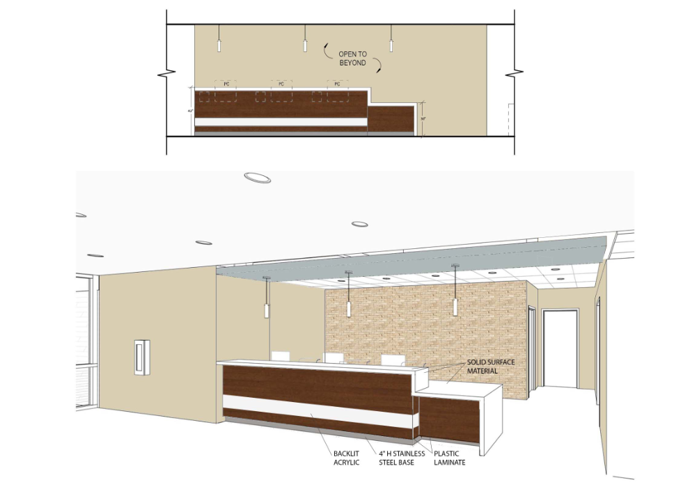 Client/Architect provides initial direction.