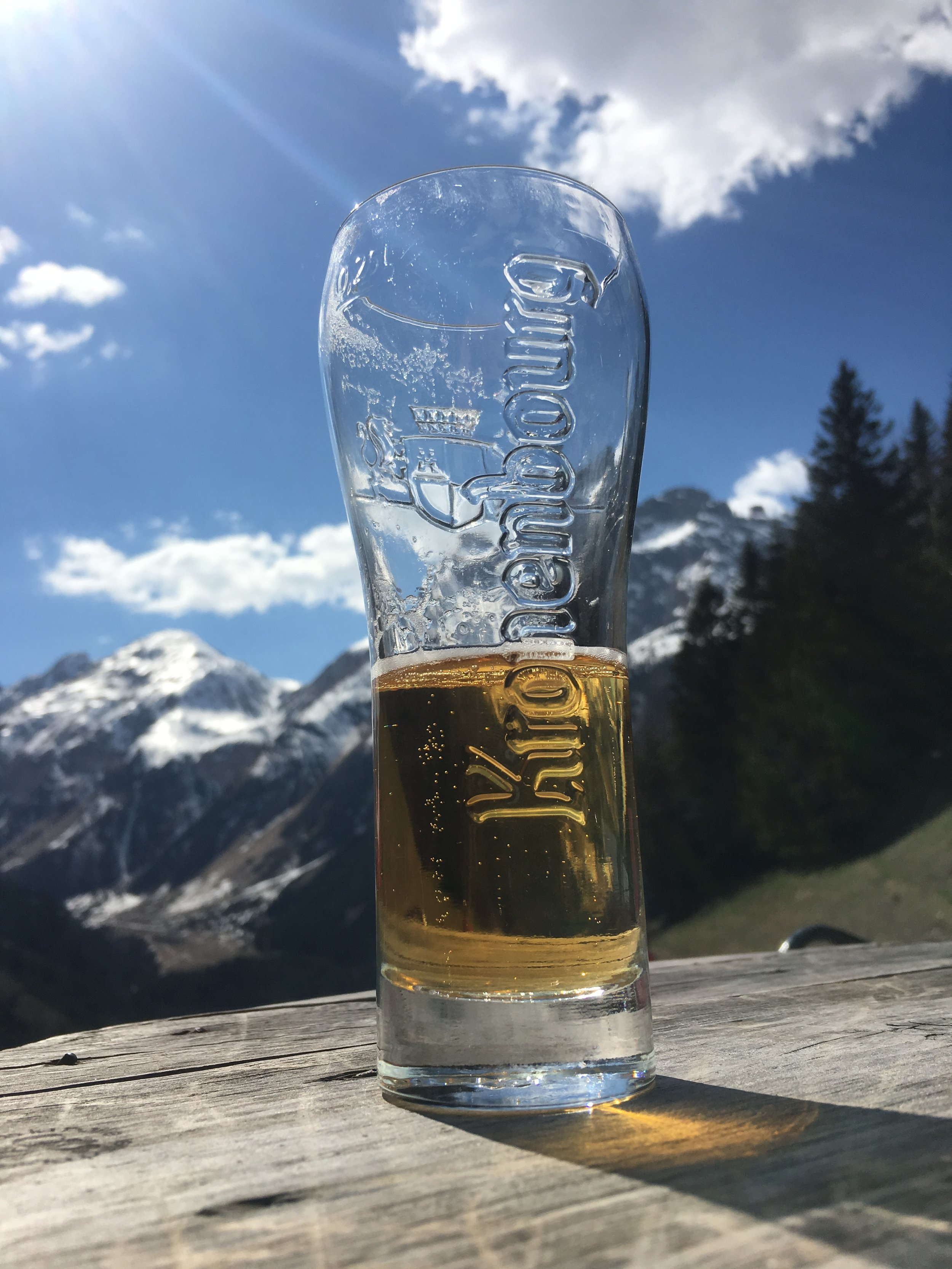 Snowshoeing and Beer