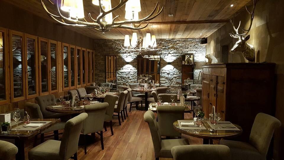 Auberge des Gorges Dining Room
