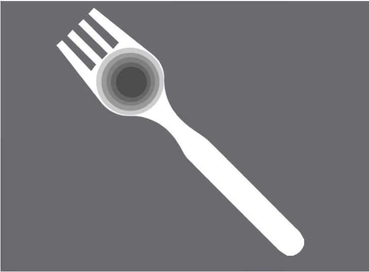 very simple graphic of the future of sporks