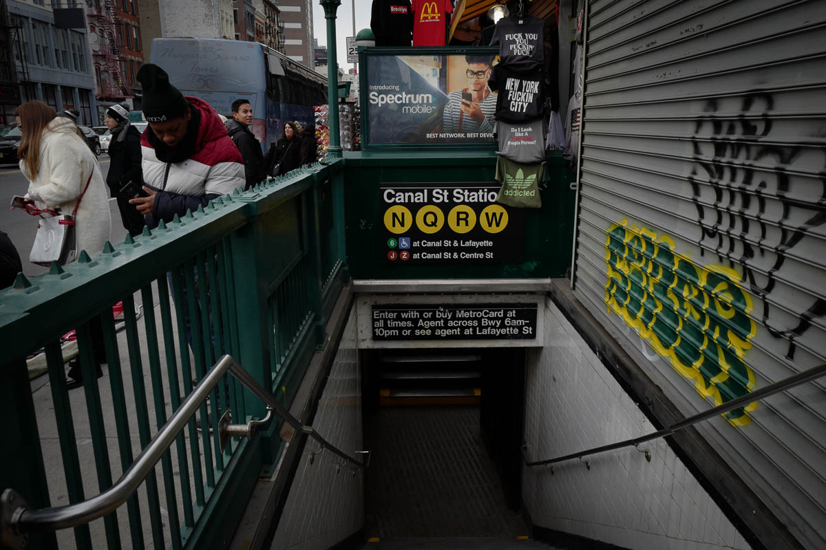 Canal St. Station ~ NYC
