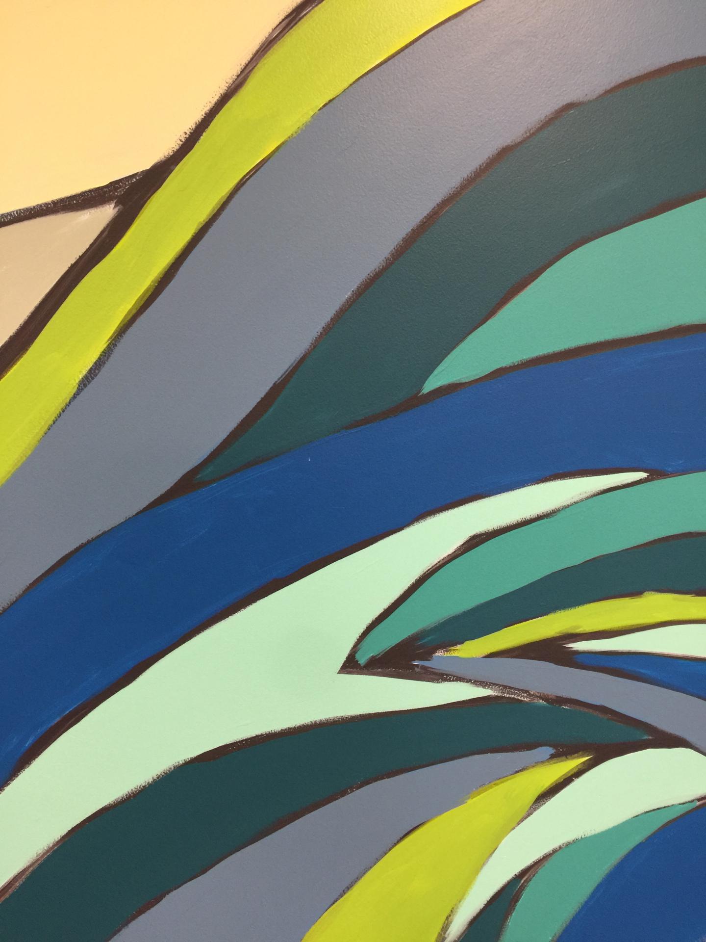 Mural close-up