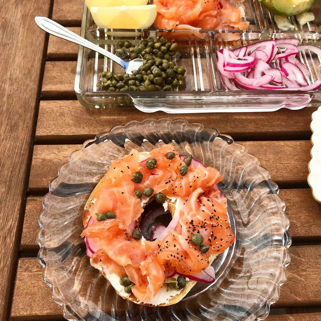 The Belly Good Life - Homemade Lox and Bagels