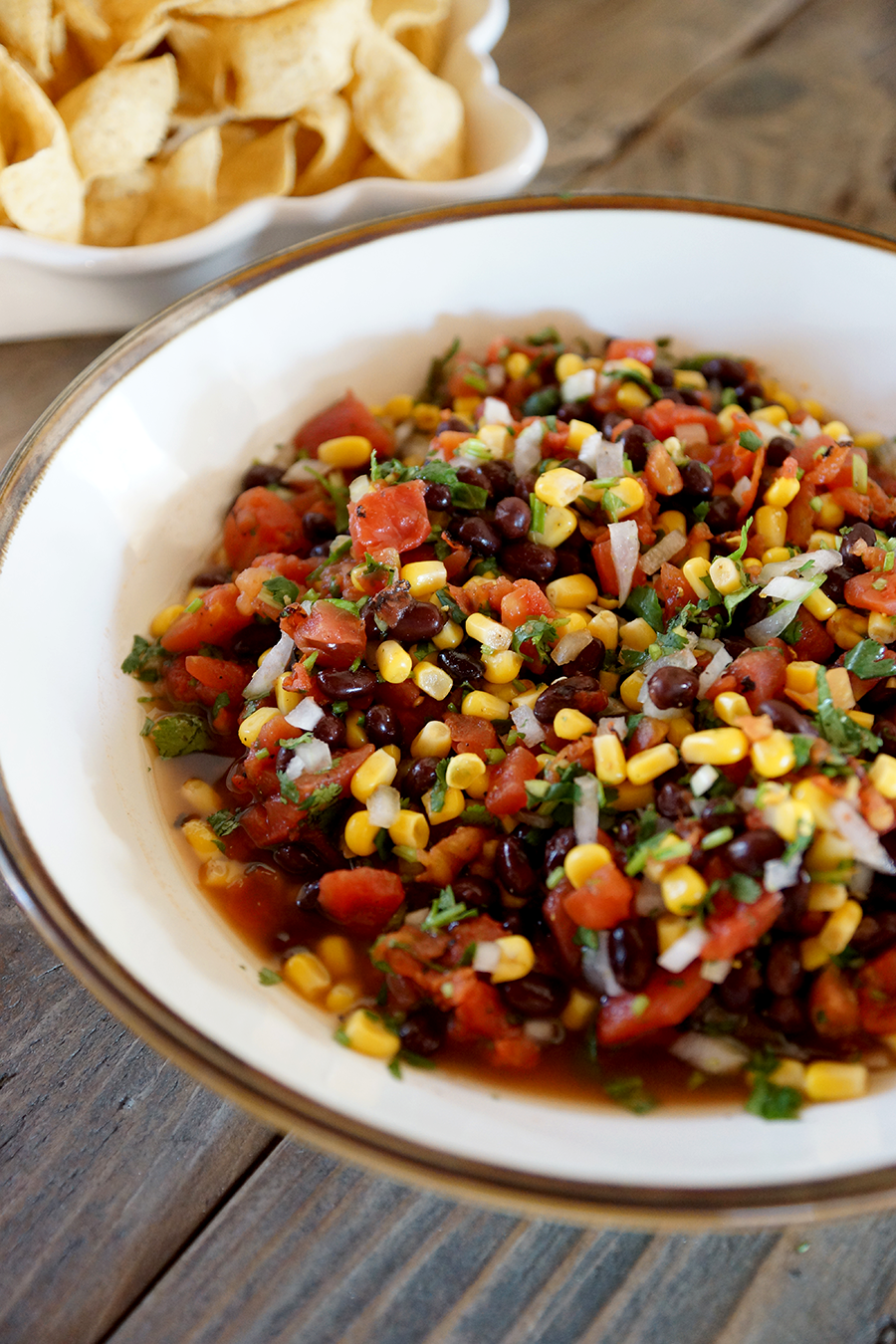 The Belly Good Life - Black Bean Salsa