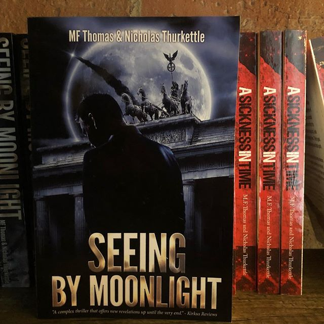 Have you heard the audio book version of Seeing by Moonlight?  https://itunes.apple.com/us/podcast/seeing-by-moonlight/id1429048795?mt=2
