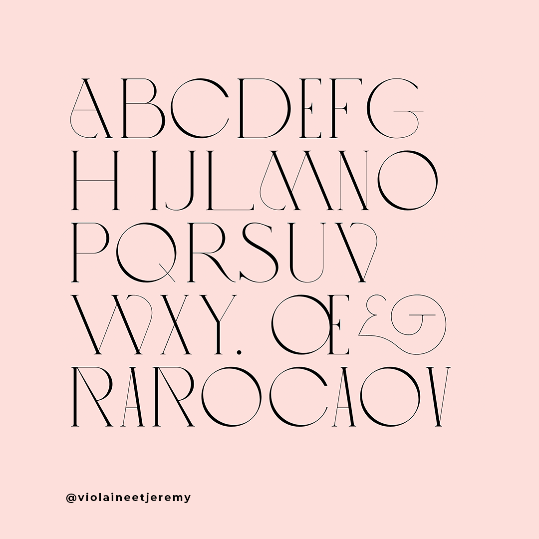 Photo Credit:  Love typeface by VJ-Type