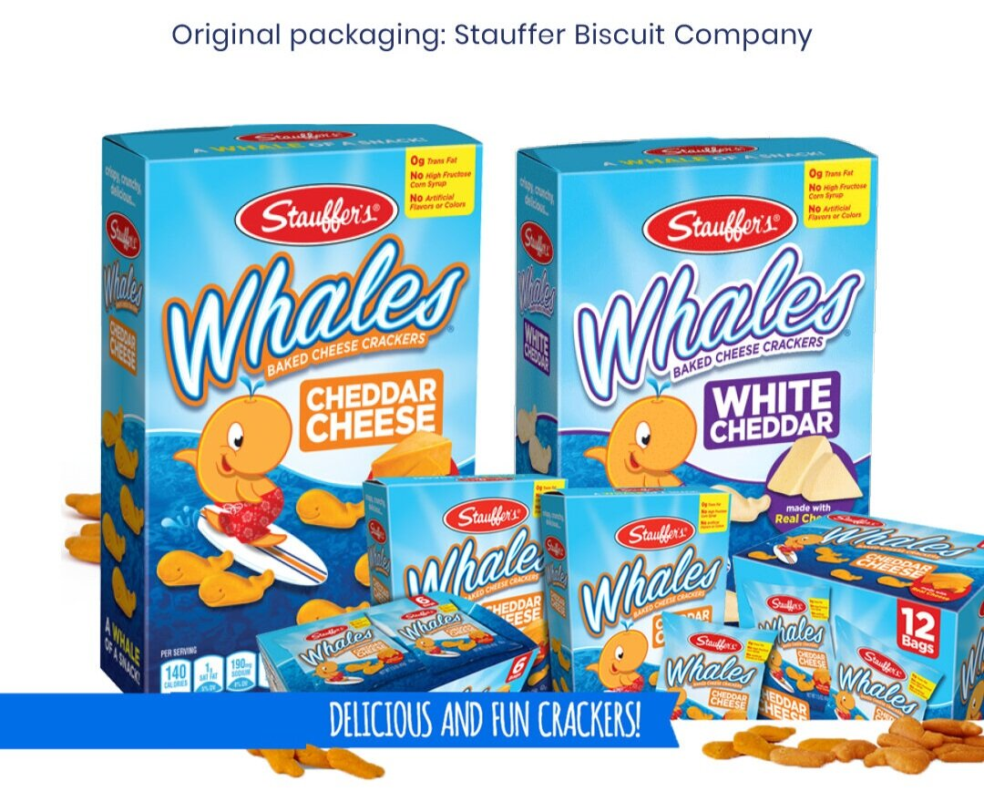 Original Packaging: Stauffer Biscuit Company