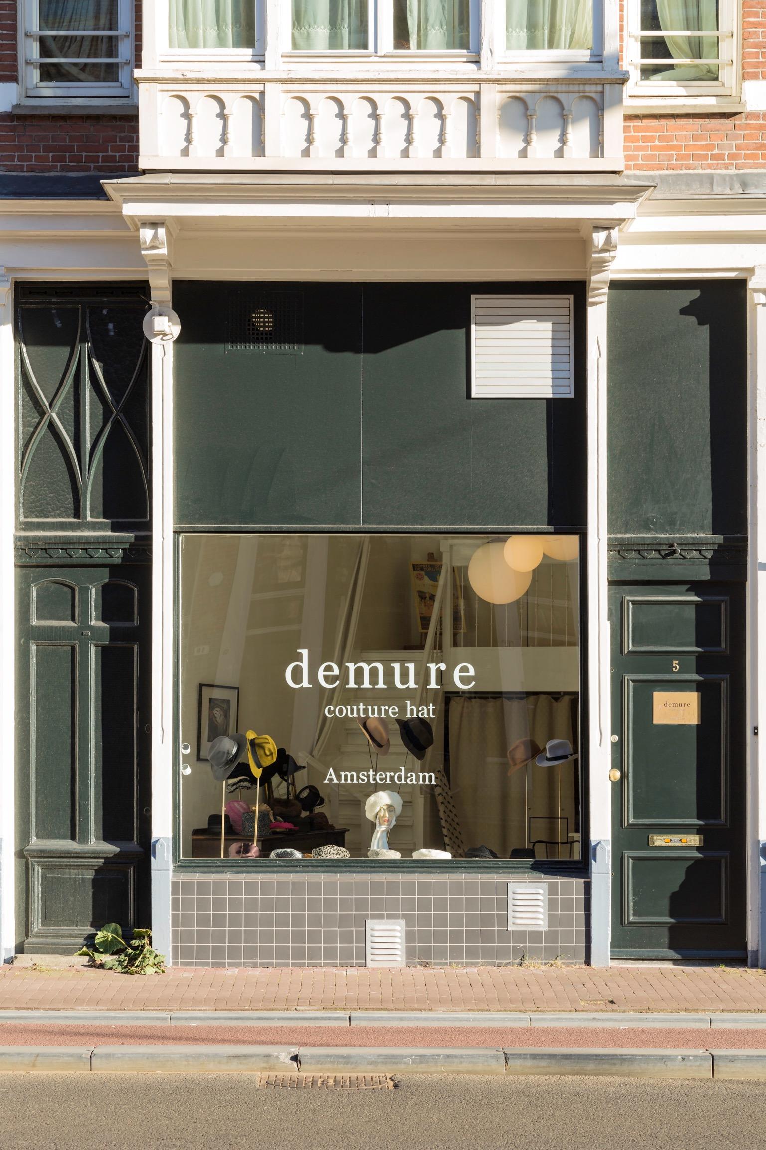 demure studio shop, Korte Marnixstraat 5, 1013 HT Amsterdam
