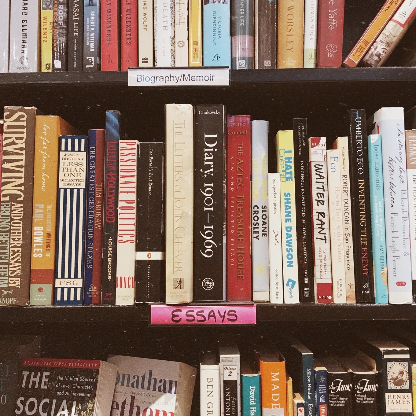 Memoir and the Personal Essay  -