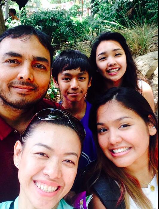 Titu and Family: Ariya (Wife) , Ariq (Son), Alisa (Daughter), Aniqa (Daughter) -
