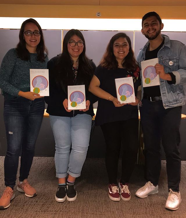Thank you to everyone for coming out to our first reading event! We appreciate all our readers and all our sponsors for making this event amazing. Stay tuned for more events and readings coming soon! in the meantime buy your copy of our spring 2019 issue with the link in our bio #palabritas2019 🖋 🌹