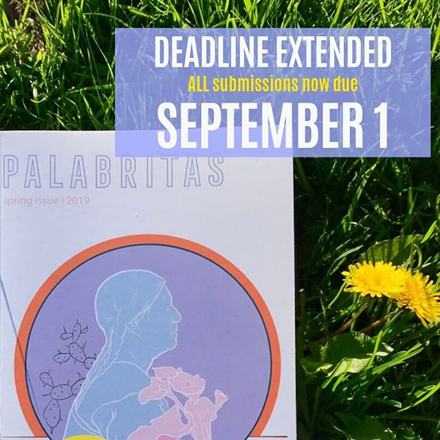 🚨UPDATE🚨 WRITING DEADLINES HAVE BEEN EXTENDED! All submissions are now due September 1st! If you had a last-minute submission don't worry now you got more time! Spread the word #latinxwriters #latinxartists #poetry #fiction
