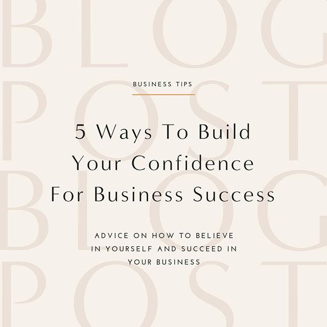 You already know you're a badass biz babe, but sometimes even the most confident ladies need a bit of a boost. Me included!⠀ ⠀ ⠀ Kick your self-doubt to the curb by heading over to the blog and reading about 5 ways you can build your confidence and succeed in your business. 👉 Link in bio!⠀ .⠀ .⠀ .⠀ .⠀ .⠀ #selfdevelopmentjunkie #womenencouragingwomen #moneymindset #thesixfigurechick #babesinbusiness #creativebusinessowner #smallbizsquad #girlbossinspiration #businesscoachforwomen #goalgetters #fueledwithheart #mnentrepreneur #inspiredwomen #femaleentrepreneurassociation #buildingbossladies #femtrepreneurs #girlbossmagic #hersuccess #inspireconnectgrow #smallandmightybusiness #manifestingmindset #livejoyfully #savvybusinesswomen #tcctribe #wearethecreativeeconomy #sharewhatyouknow #thebossbabesociete #femalehustlers #inspiredtoimpact #sheconquers⠀