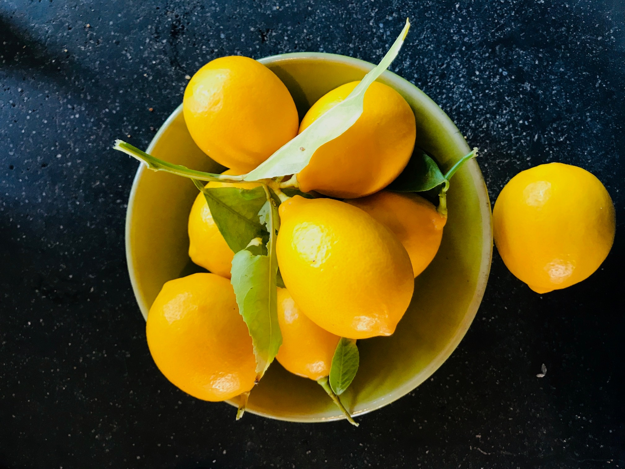 Lemons from my tree