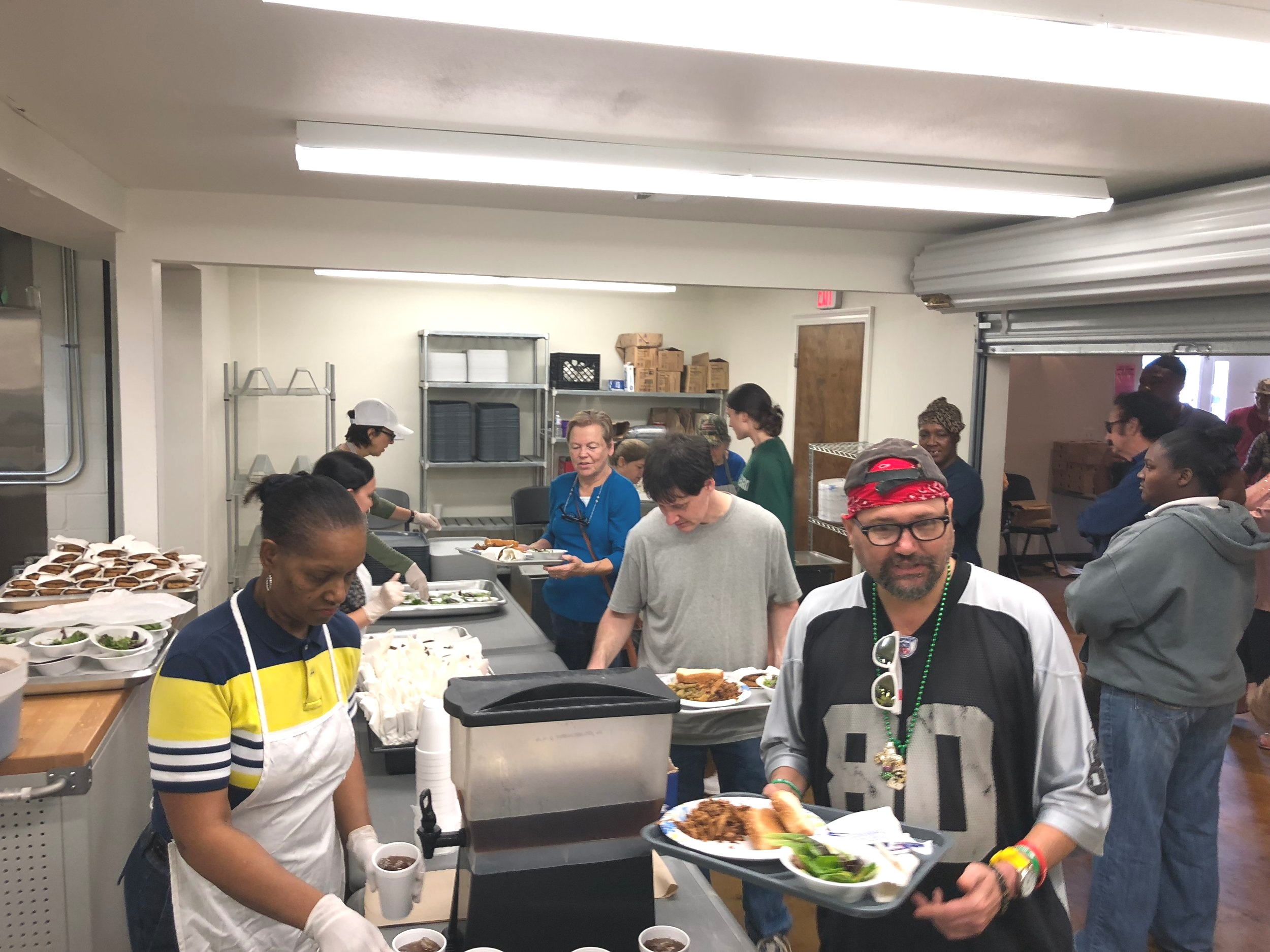 Free hot Meals - Join our Hand of Hope Family for a free hot lunch every Tuesday and Thursday from 11 a.m. until 12:45 p.m. located next to Our Daily Bread. Come just as you are, and bring your family, friends, and neighbors. Everyone is welcomed and accepted!