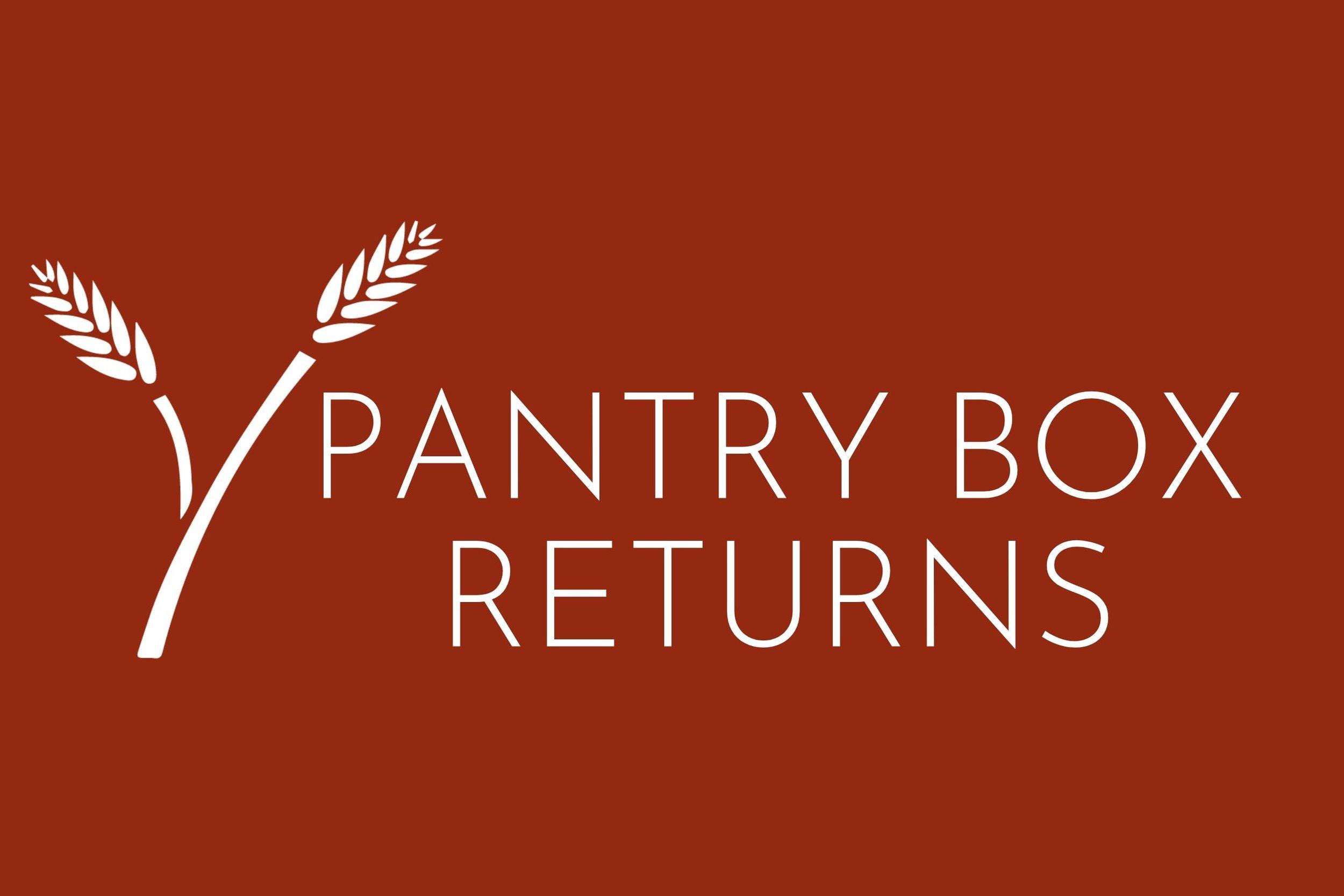Pantry Box Returns
