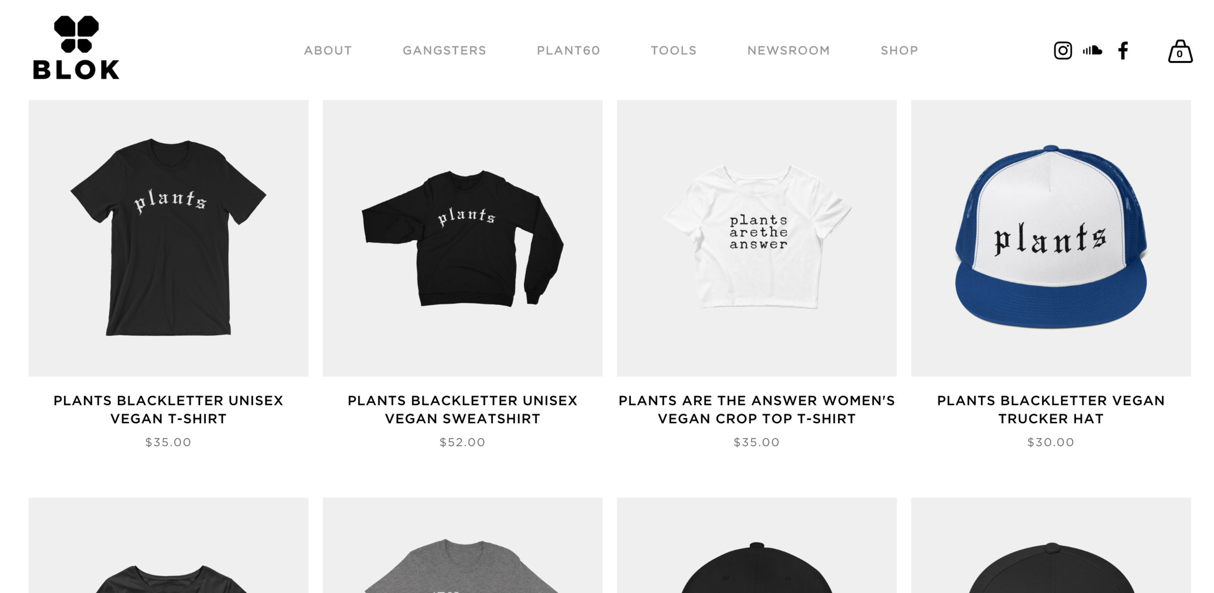 unique ecommerce store - BLOKLIFE set out to show that not all vegans wear rainbows and live in mud huts. The apparel's modern, edgy monotone style has trailblazed it's way through the vegan scene, and resulted in thousands of domestic and international product sales.