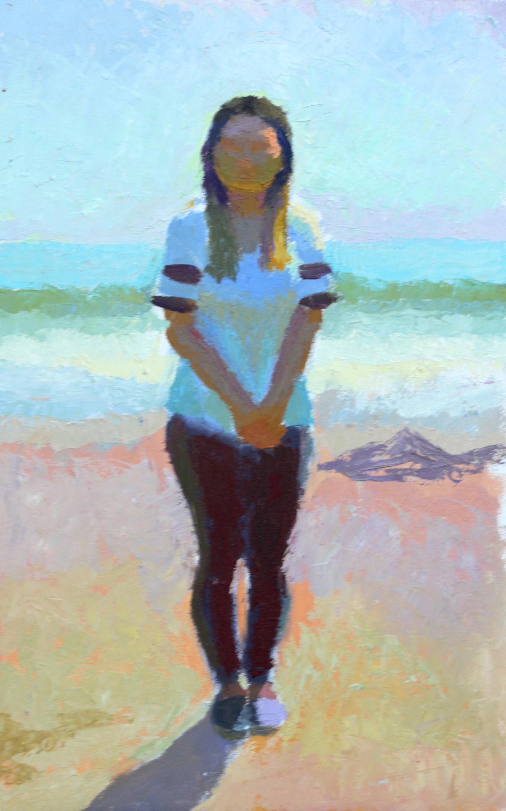 Dian on Beach