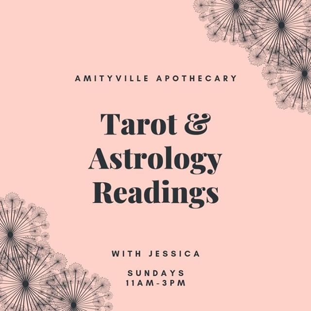 Hi, how are ya?  Stop in for a #reading this Sunday with me.  Appointments available 631-464-4589   $30/15mins