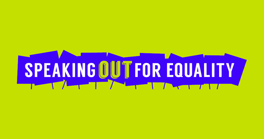 """""""Speaking Out for Equality: Gay Rights & the Courts"""" tells the story of the courageous movement for LGBT justice and equality."""