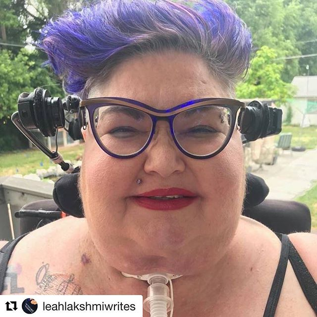 #Repost @leahlakshmiwrites (@get_repost) ・・・ #Repost @fatlibink with @get_repost ・・・ Carrie Ann Lucas. Badass fat crip warrior. Gone to the ancestors too soon. Killed by capitalism, specifically insurance company greed. An unfathomable loss to so many of us. 💔✊🔥 Carrie Ann Lucas was an advocate, an attorney, a blockade (read in comments about her 2017 arrest using the power of her fat, crip body!), and so much more. By any means necessary. ✊ Rest In Peace. Rise in Power. May your life continue to be of benefit through our ongoing fight. #fattiesagainstfascism
