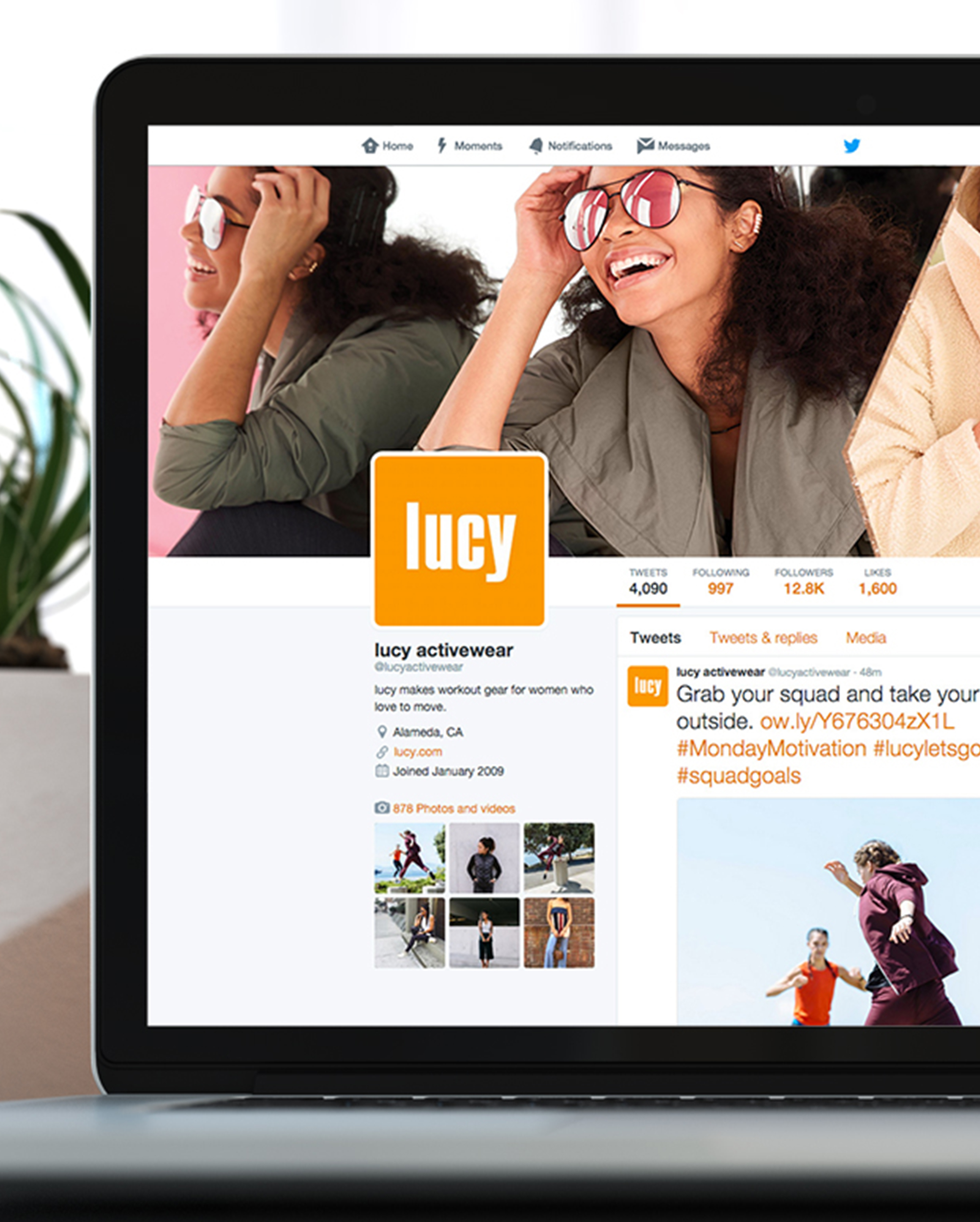 Lucy Activewear (The North Face):    Monthly site refreshes, email marketing, animations, print.