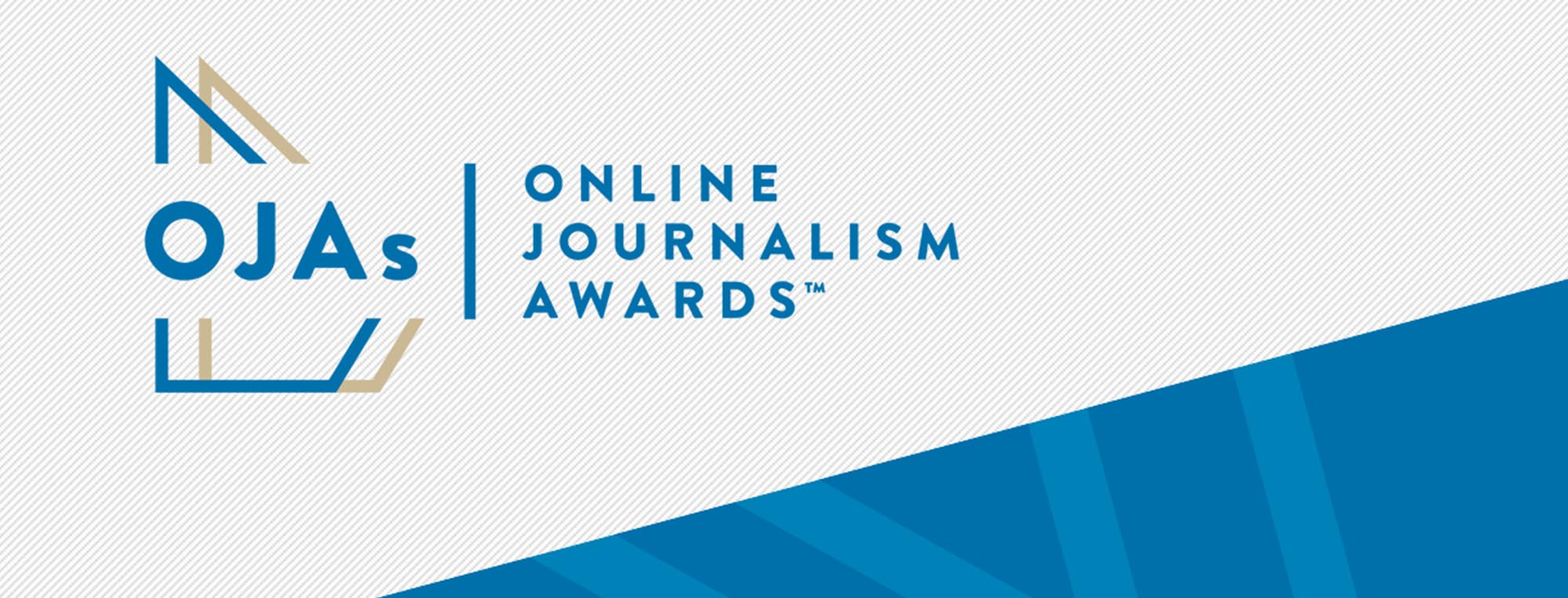 Online Journalism Awards: Visual identity re-brand