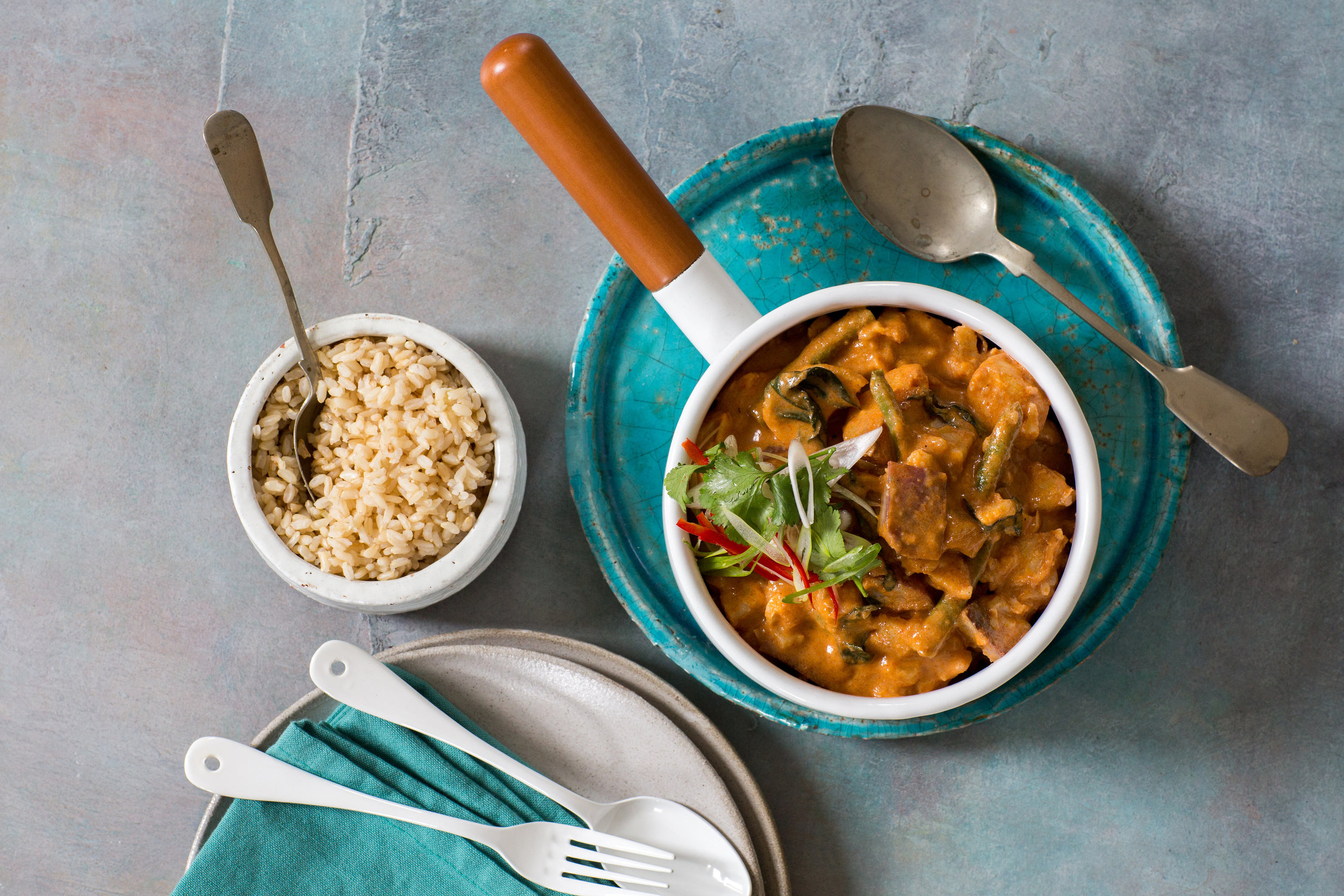 Massaman Chicken Curry, Grab and Go Meal