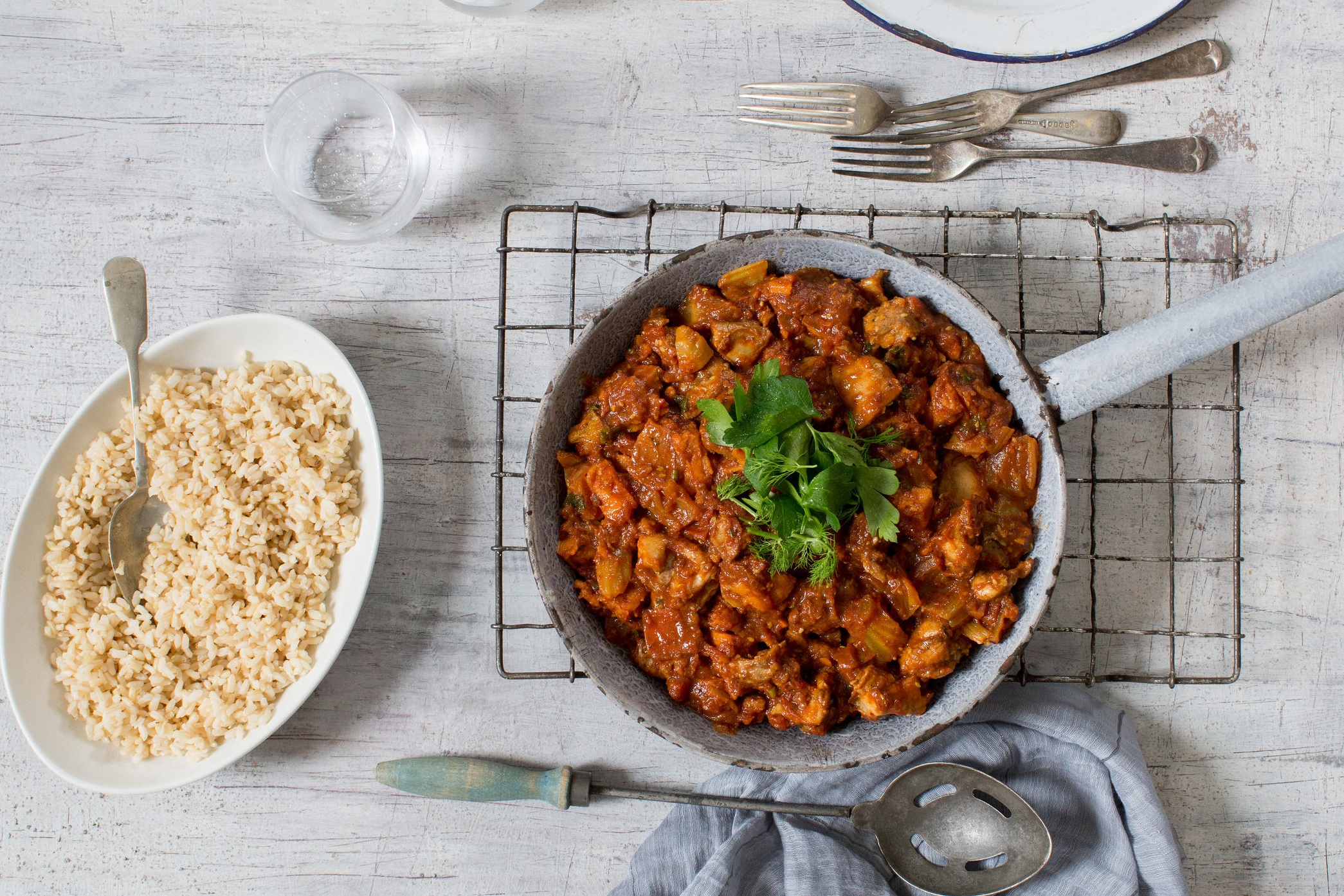 North African Curry, Grab and Go Meal