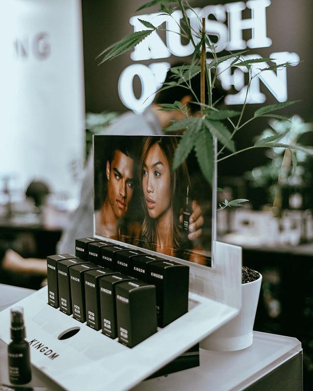 Real CBD Beauty #beautyconLA #beautycon #Kushqueen