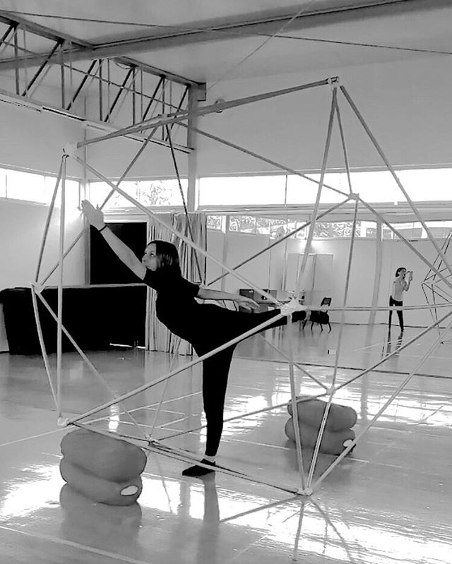 movement in space #research #laban #kinesphere #icosahedron #geometry #somatics #architecture #workandplay #weekends #tuning