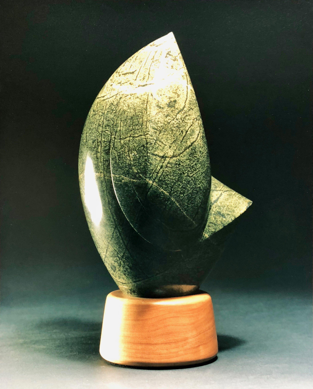 Serpentine carving.