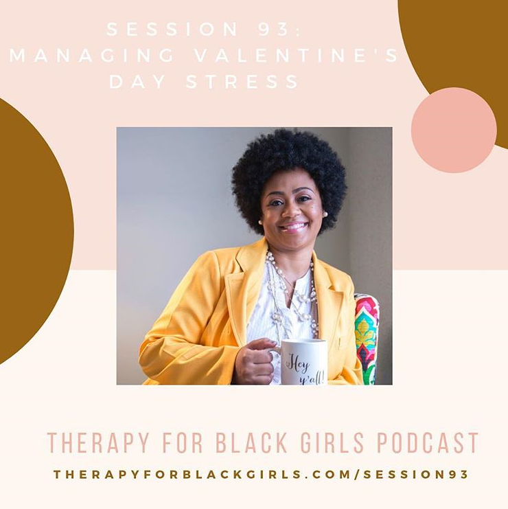 Follow  Therapy For Black Girls Podcast here .