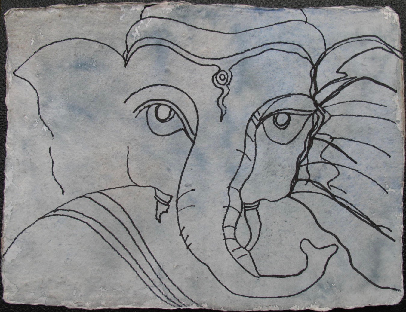 Portrait Sri Ganesh 2