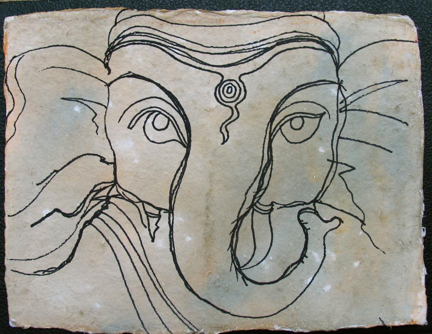 Portrait Sri Ganesh