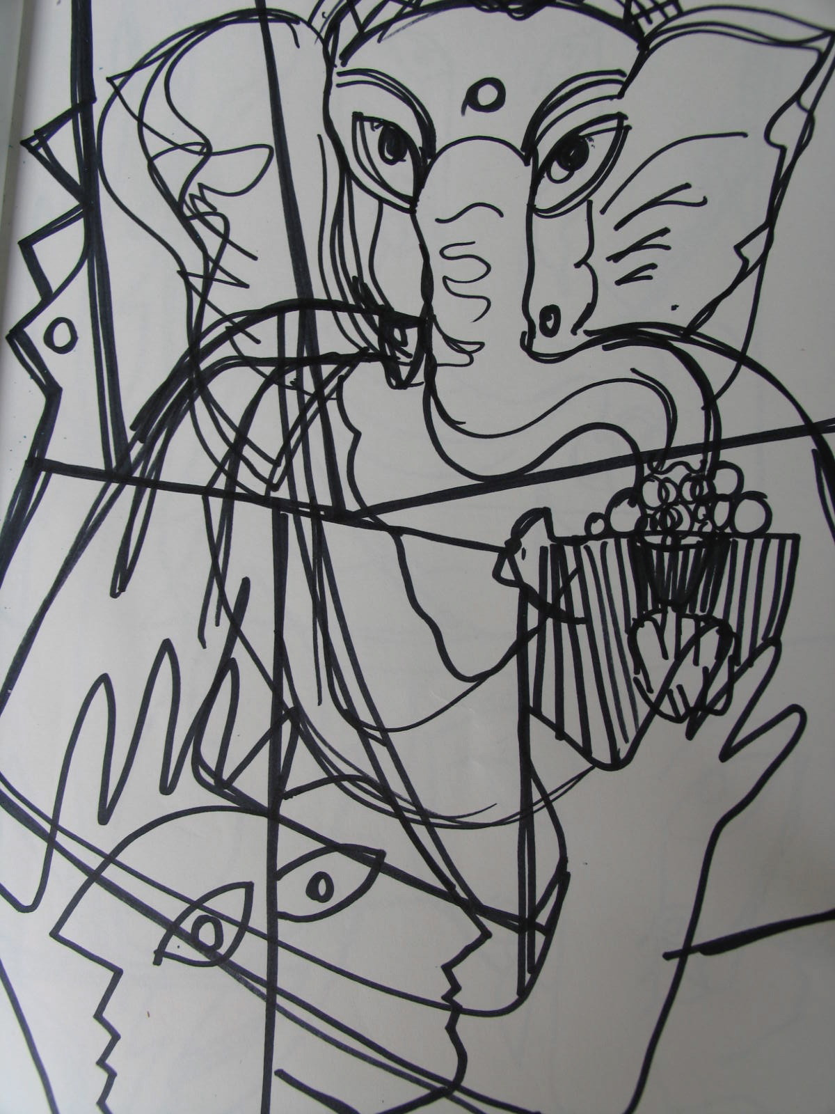 Sri Ganeshji Drawing 1