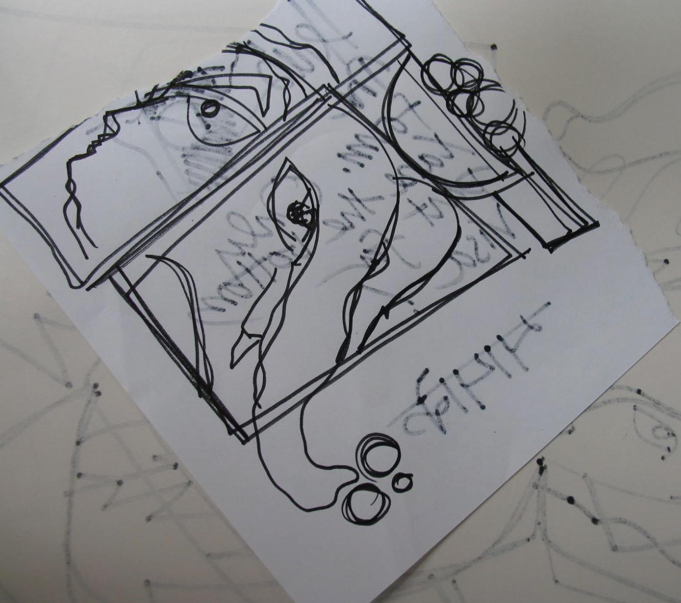 Sri Ganeshji Sketch 1