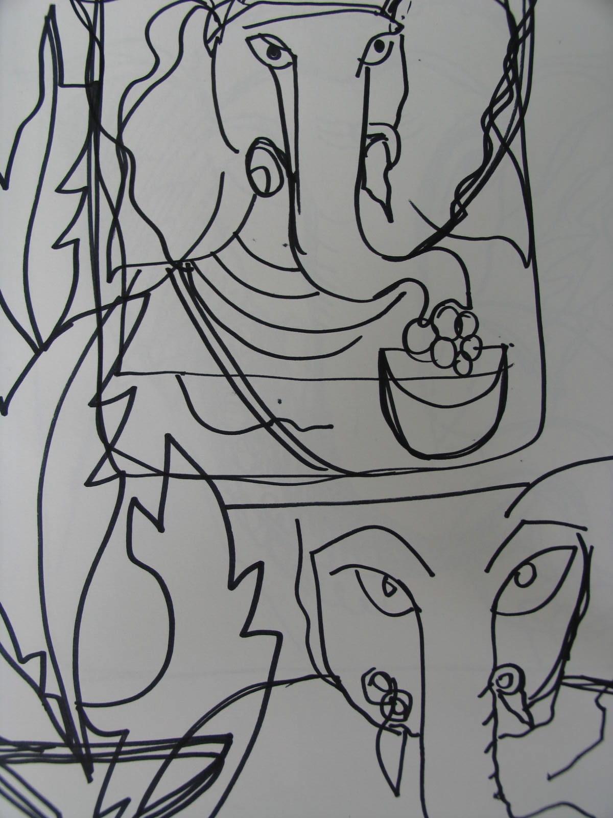 Sri Ganeshji Sketch 5