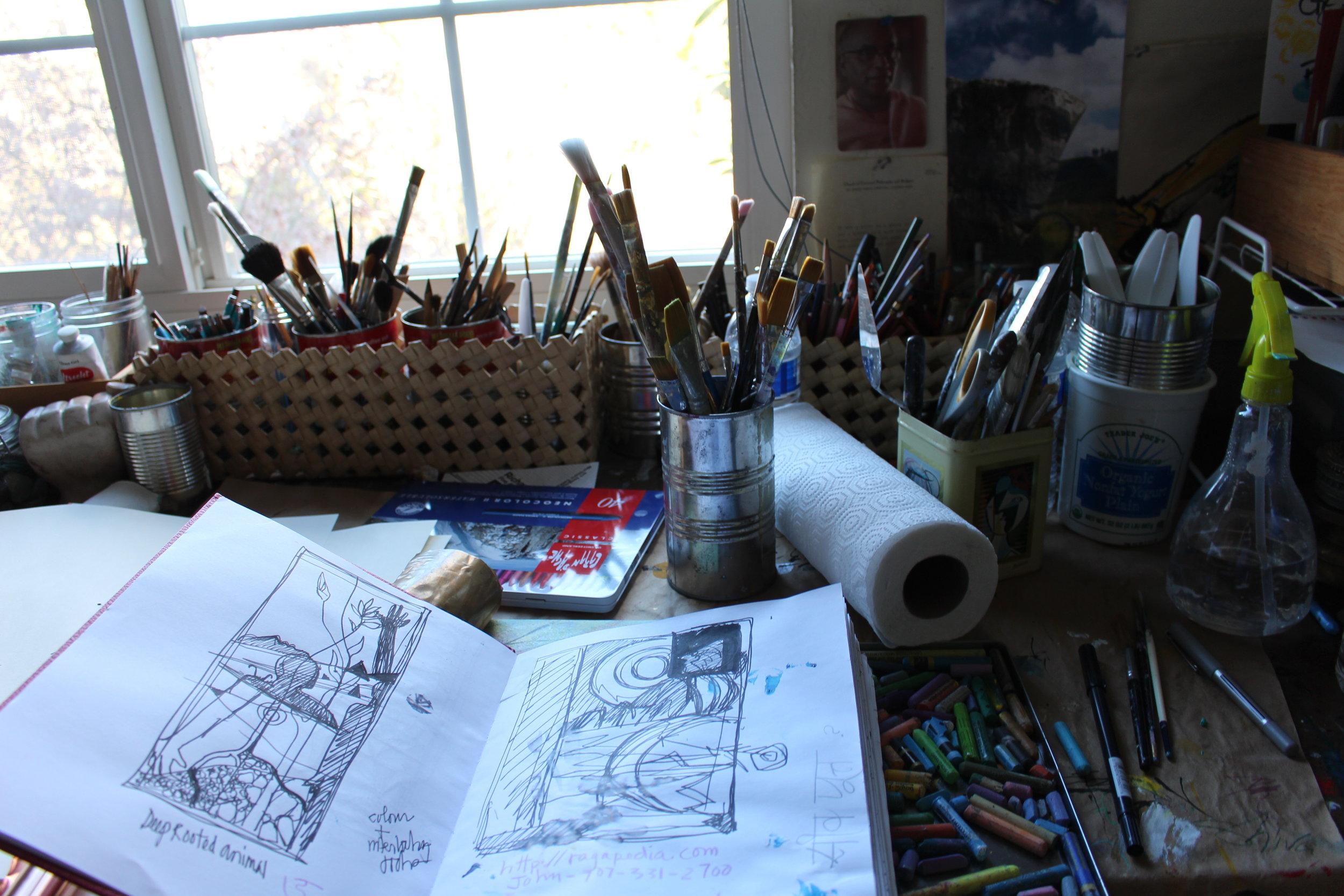 Sketchbook Progress