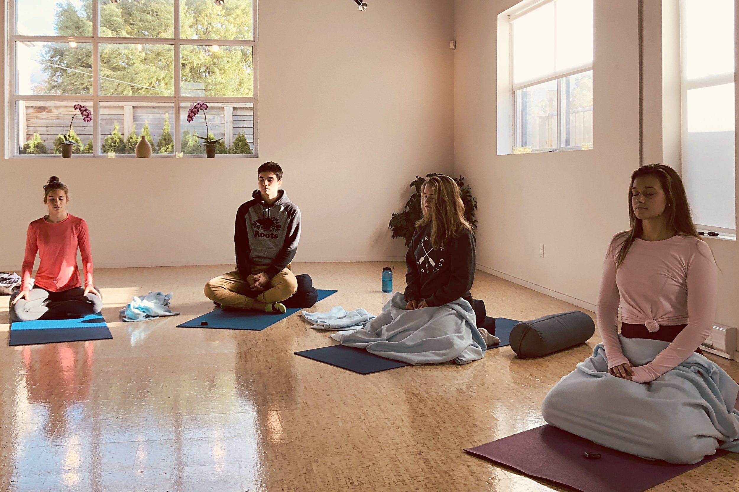 Teen Mindfulness Based Stress Reduction - Where we learn to cope better with life challenges.
