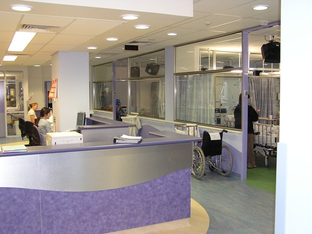 The refurbished Kids with Cancer Foundation Day Ward at Sydney Children's Hospital (above) opened in 2006 after a donation of $500,000 from the Foundation